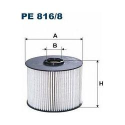 PE 816/8 F PE816/8 FILTR PALIWA CITROEN C4/C5/FORD C-MAX/GALAXY/PEUGEOT 308/3008 2.0 HDI SZT FILTRY FILTRON [937179]...