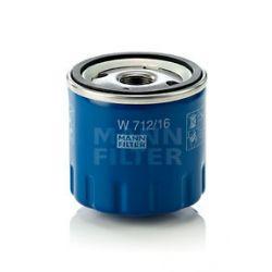W 712/16 MAN W712/16 FILTR OLEJU ALFA ROMEO 145/146 =MAN W 713/22 MAN W 713/22 SZT MANN-FILTER FILTRY MANN-FILTER [939189]...