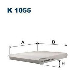 K 1055 F K1055 FILTR KABINOWY OPEL ASTRA II Z KLIMATYZACJA FILTRY FILTRON [940687]...