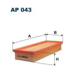 AP 043 F AP043 FILTR POWIETRZA FIAT DUNA D UNO 1,7D 89- SZT FILTRY FILTRON [941850]...