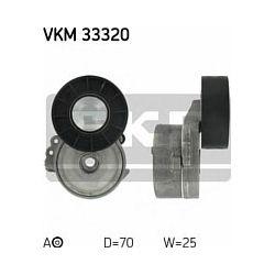VKM 33320 SKF VKM33320 ROLKA MICRO-V NAPINAJACA FORD FOCUS II 2.0TDCI 04 CITROEN/PEUGEOT 2.0HDI 04 SZT SKF ROLKI SKF [941925]...