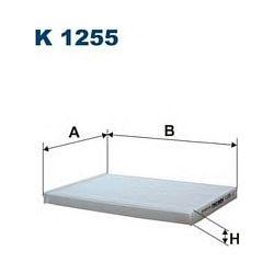 K 1255 F K1255 FILTR KABINOWY NISSAN QASHQAI/X-TRAIL 07 SZT FILTRY FILTRON [943079]...