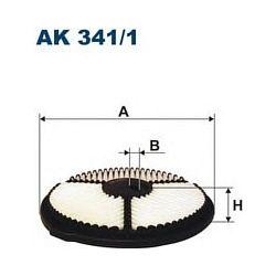 AK 341/1 F AK341/1 FILTR POWIETRZA SUZUKI SWIFT 1,3-90 1,3SF413-80 SZT FILTRY FILTRON [943648]...