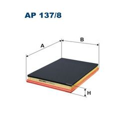 AP 137/8 F AP137/8 FILTR POWIETRZA RENAULT MASCOTT 120DXI/160DXI SZT FILTRY FILTRON [943673]...
