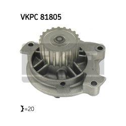 VKPC 81805 SKF VKPC81805 POMPA WODY AUDI 100/ 100 KOMBI 2.5 TDI 90-94 SZT SKF POMPY WODY SKF [945196]...