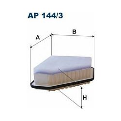 AP 144/3 F AP144/3 FILTR POWIETRZA TOYOTA AURIS/AVENSIS 07 ; 1.4-2.2 D-4D SZT FILTRY FILTRON [945529]...