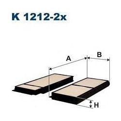 K 1212-2X F K1212-2X FILTR KABINOWY MAZDA III 04- MAZDA V 05- FILTRY FILTRON [945819]...