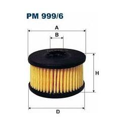 PM 999/6 F PM999/6 FILTR PALIWA FILTR DO INSTALACJI GAZOWYCH EMMA ZAVOLI /31X10,5X10X31X20,5/ SZT FILTRY FILTRON [946242]...
