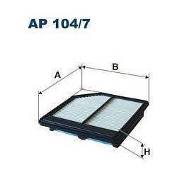 AP 104/7 F AP104/7 FILTR POWIETRZA HONDA CIVIC 06 ; 1.4-1.8 SZT FILTRY FILTRON [947175]...