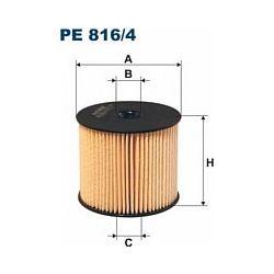 PE 816/4 F PE816/4 FILTR PALIWA CIT.BERLINGO II/C5/C8/JUMPY/XANTIA/XSARA 2.0/2.2 02- SZT FILTRY FILTRON [948022]...