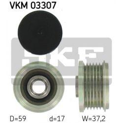 VKM 03307 SKF VKM03307 SPRZEGLO ALTERNATORA CITROEN BERLINGO/C2/C3/C5FIAT SCUDO/PEUGEOT 308/1.6HDI/2.0HDI/2.2HDI 02; SZT SKF SPRZEGLA ALTERNATORA [950661]...