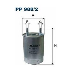 PP 988/2 F PP988/2 FILTR PALIWA RENAULT MEGANE/SCENIC 1.5/1.9/2.0 DCI 09 ; SZT FILTRY FILTRON [952078]...