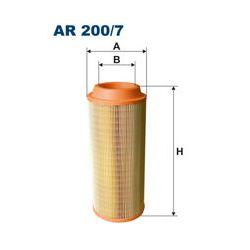 AR 200/7 F AR200/7 FILTR POWIETRZA MASSEY FERGUSON - MASZYNY ROLNICZE SZT FILTRY FILTRON [953555]...
