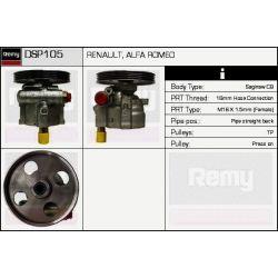DSP105 DR DSP105 POMPA WSPOMAGANIA - RENAULT CLIO II/KANGOO/MEGANE/SCENIC/ALFA 166 OE 7700840105 REMY SZT DELCO REMY PRZEKLADNIE POMPY WSPOMAGAN [961257]...