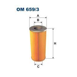 OM 659/3 F OM659/3 FILTR OLEJU BIALORUS MTZ-80 MTZ-82 - CIAGNIKI SZT FILTRY FILTRON [970487]...