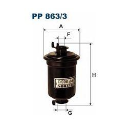 PP 863/3 F PP863/3 FILTR PALIWA DAIHATSU CHARADE FEROZA SZT FILTRY FILTRON [970521]...