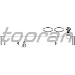 108 843 HP 108 843 PRZEWOD CHLODNICY VW GOLF III. PASSAT 91-96. SHARAN. T4. SIL 2,8 VR6 OE 021121050C SZT HANS PRIES MULTILINIA H [1061297]...