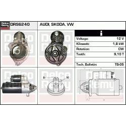 DRS6240X DR DRS6240X ROZRUSZNIK AUDI 80/A4/A6/SKODA SUPERB/VW PASSAT 1.9 TDI SZT REMY ALTERNATORY I ROZRUSZNIKI REMY [1099944]...