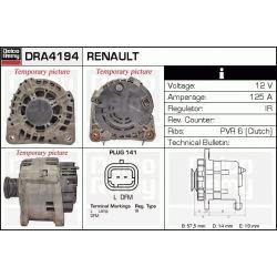 DRA4194 DR DRA4194 ALTERNATOR NISSAN INTERSTAR/OPEL MOVANO/RENAULT MASTER II/LAGUNA/TRAFIC II 1.9/2.2 DCI/DTI SZT REMY ALTERNATORY I ROZRUSZNIKI [1068809]...