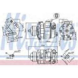 89418 NIS 89418 SPREZARKA KLIMATYZACJI AUDI A 4 / S 4 (00-): S4 - 4.2I V8 40V G AUT., S4 - 4.2I V8 40V G M, AUDI A 6 / S 6 (04-): 4.2I V8 4 SZT NISSEN [1461992]...