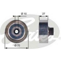 T36361 G T36361 ROLKA MICRO-V PROWADZACA CITROEN/PEUGEOT C2/C3/C3 PLURIEL/C4/C4 PICASSO/C4 GRAND PICASSO/206/207/307 GATES ROLKI (PG) (PK) GATES [1101495]...