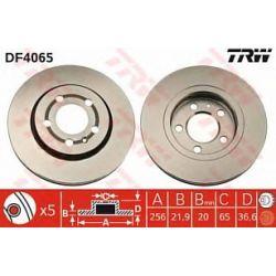 DF4065 TRW DF4065 TARCZA HAMULCOWA 256X21.9 V 5-OTW AUDI A3/VW BORA/GOLF IV 1.8/2.0 SZT TRW TRW TARCZE (PM) (GR) TRW [1001801]...