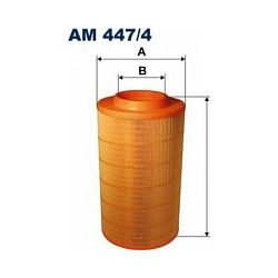 AM 447/4 F AM447/4 FILTR POWIETRZA DAF 55 SZT FILTRY FILTRON [970486]...