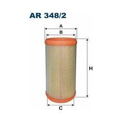 AR348/2 F AR348/2 FILTR POWIETRZA ALFA ROMEO GTV/ALFA ROMEO SPIDER 00 ; SZT FILTRY FILTRON [861049]...