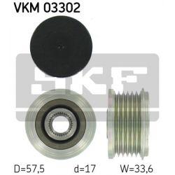 VKM 03302 SKF VKM03302 SPRZEGLO ALTERNATORA CITROEN C5/C8/XANTIA/XSARA/ PEUGEOT 306/307/406 2,0 2,2 HDI 06.99-08.04 SZT SKF SPRZEGLA ALTERNATORA ( [948768]...