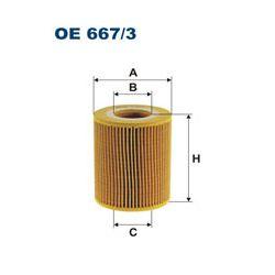 OE 667/3 F OE667/3 FILTR OLEJU CITROEN C5 II/C6/JAGUAR/LANDROVER/PEUGEOT 407 3.0 HDI 09- SZT FILTRON FILTRY (PG) FILTRON [1391970]...