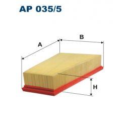 AP 035/5 F AP035/5 FILTR POWIETRZA MERCEDES B-KLASA 11- SZT FILTRON FILTRY (PG) (PK) FILTRON [1801882]...