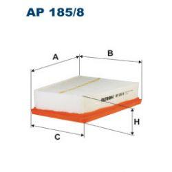 AP 185/8 F AP185/8 FILTR POWIETRZA RENAULT MEGANE/SCENIC 2.0 16V 09- SZT FILTRON FILTRY (PG) (PK) FILTRON [1886450]...