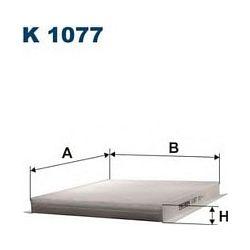 K 1077 F K1077 FILTR KABINOWY SAAB 9000 2.0/2.3 92- FILTRON FILTRY (PG) (PK) FILTRON [1061792]...