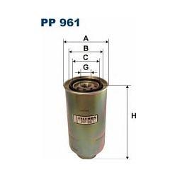 PP 961 F PP961 FILTR PALIWA NISSAN PATROL 4.2D 92- SZT FILTRON FILTRY (PG) (PK) FILTRON [1167938]...