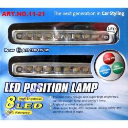 lampy do jazdy dziennej led E11