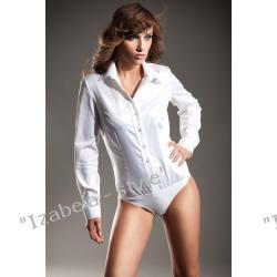Koszula body, biała, rozmiar 40.
