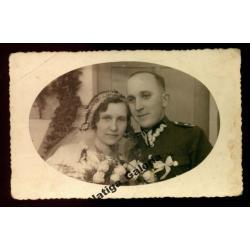 Oficer 70 PP, fotografia ślubna, Jarocin 1935 (F)