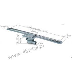 Kessel Linearis 750 odpływ liniowy 40150.83