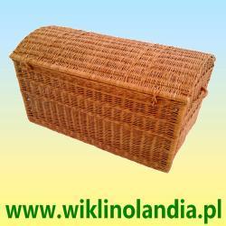 Kufer wiklinowy Pirat bez obszycia