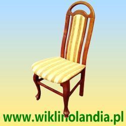 Krzesła bukowe tapicerowane