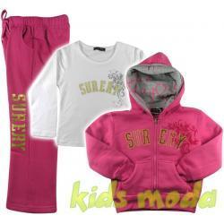 3-cz dres SURERY dla dziewczynki r.122