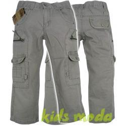 Spodnie chłopięce, bojówki r.116/122