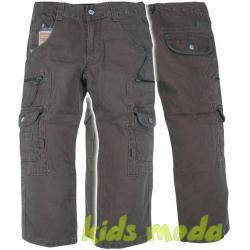 Spodnie chłopięce, bojówki r.146/152