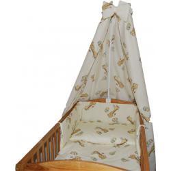 Pościel dziecięca do łóżeczka 140x70 żyrafki