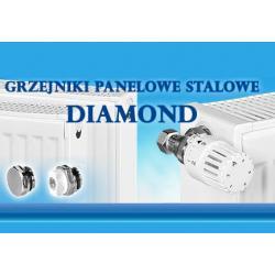 Grzejnik stalowy DIAMOND C22 600/600...