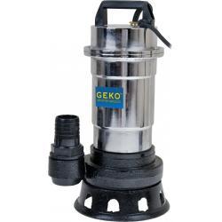 """Pompa do wody brudnej z rozdrabniaczem nikiel nierdzewna 2850W + Wąż PCV do wody 2"""" 20m..."""