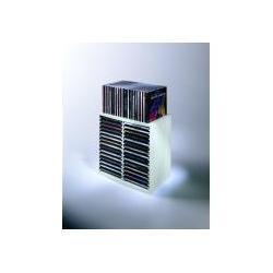 WIEŻA CD SPRING NA 30 CD/DVD SZARA