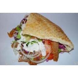 2.1 doner kebab z kurczaka w bułce pita Dania gotowe