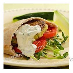 3.2 kebab vegetariana w bułce + falafel kotleciki z cieciorki Dania gotowe