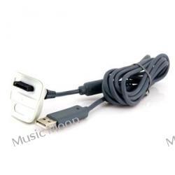 XBOX 360 /PC/ PAD bezprzewodowy kabel ŁADOWARKA